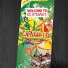 Caravan-e-Dil Standee Design