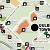 Karachi Map - Gulberg Town