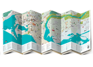 Karachi Foldout Map
