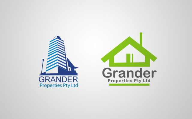 Grander Properties Logo Option