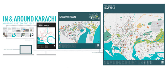 Map presentation | Map of Karachi