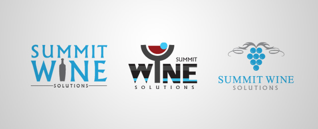 Submit Wine Logo Options