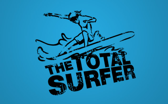 Total Surfer Blue Background