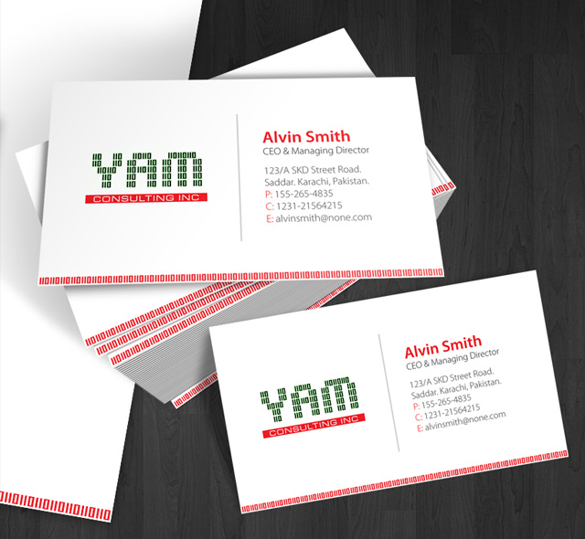 Yam Consulting Business Card