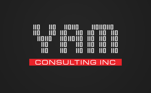 Yam Consulting White on black