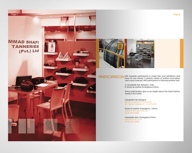 Company Profile - Spread design