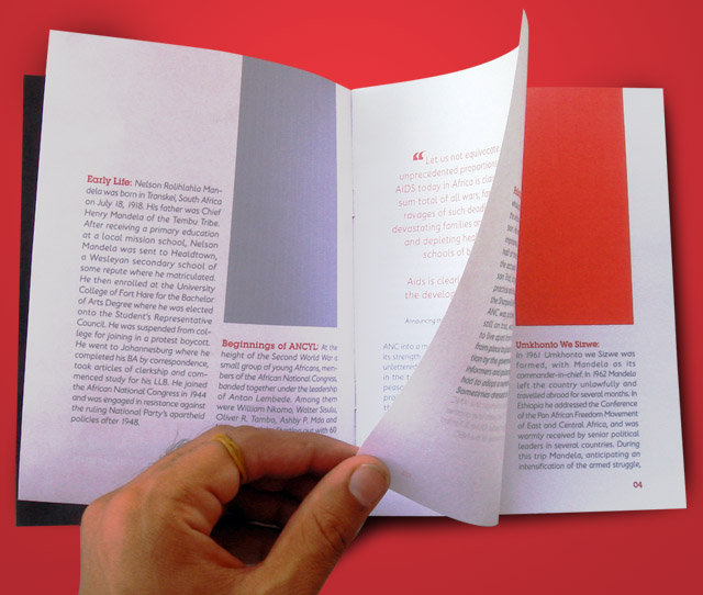 Inner Page Design for booklet