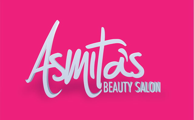 Beauty Salon 3d Logo Design