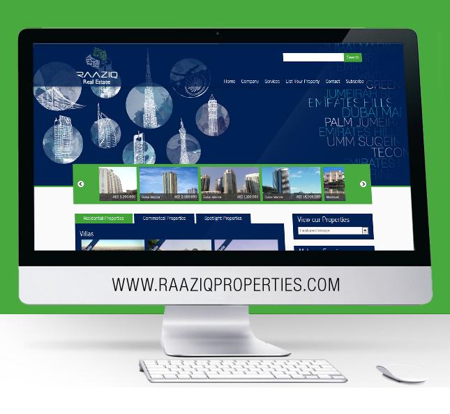 Raziq Properties Website