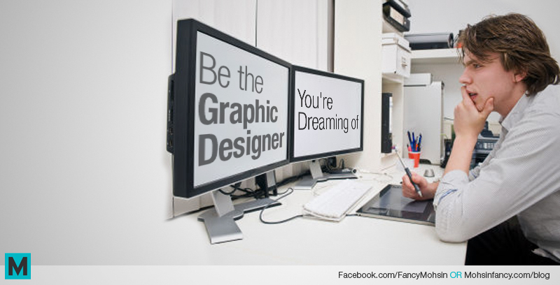 Dream to become a Graphic Designer.