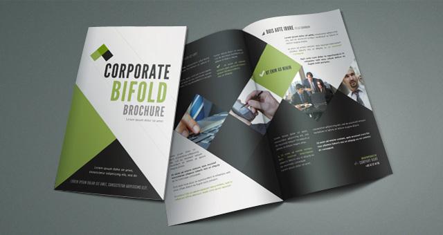 Free A4 Bi-Brochure Template