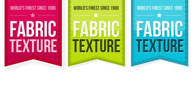 Free Fabric Ribbon Set PSD