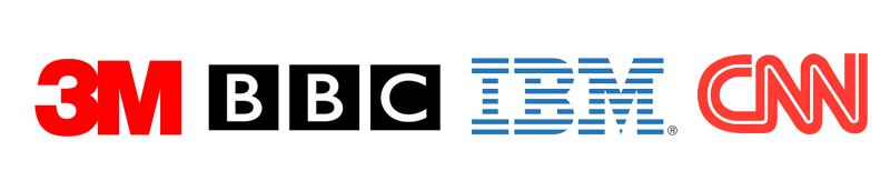 Lettermark Logo Type Examples