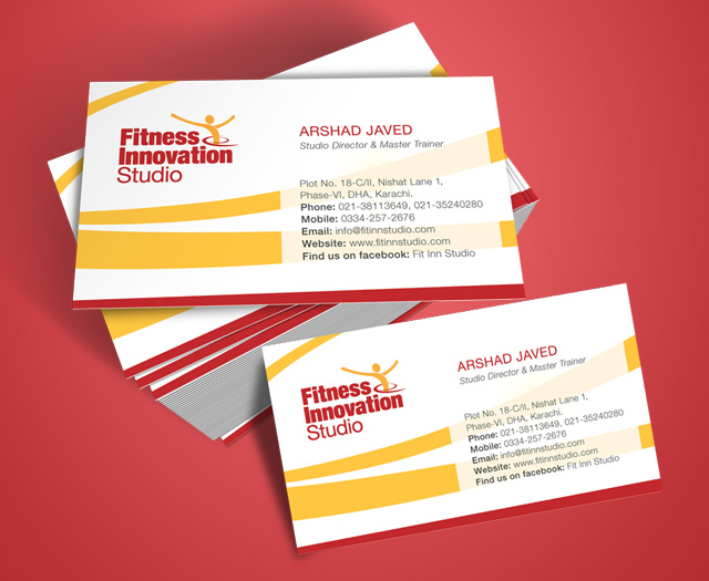 Business Card Design For Fitinn