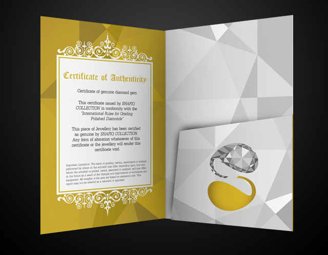 Shafiq Collection Certificate Folder