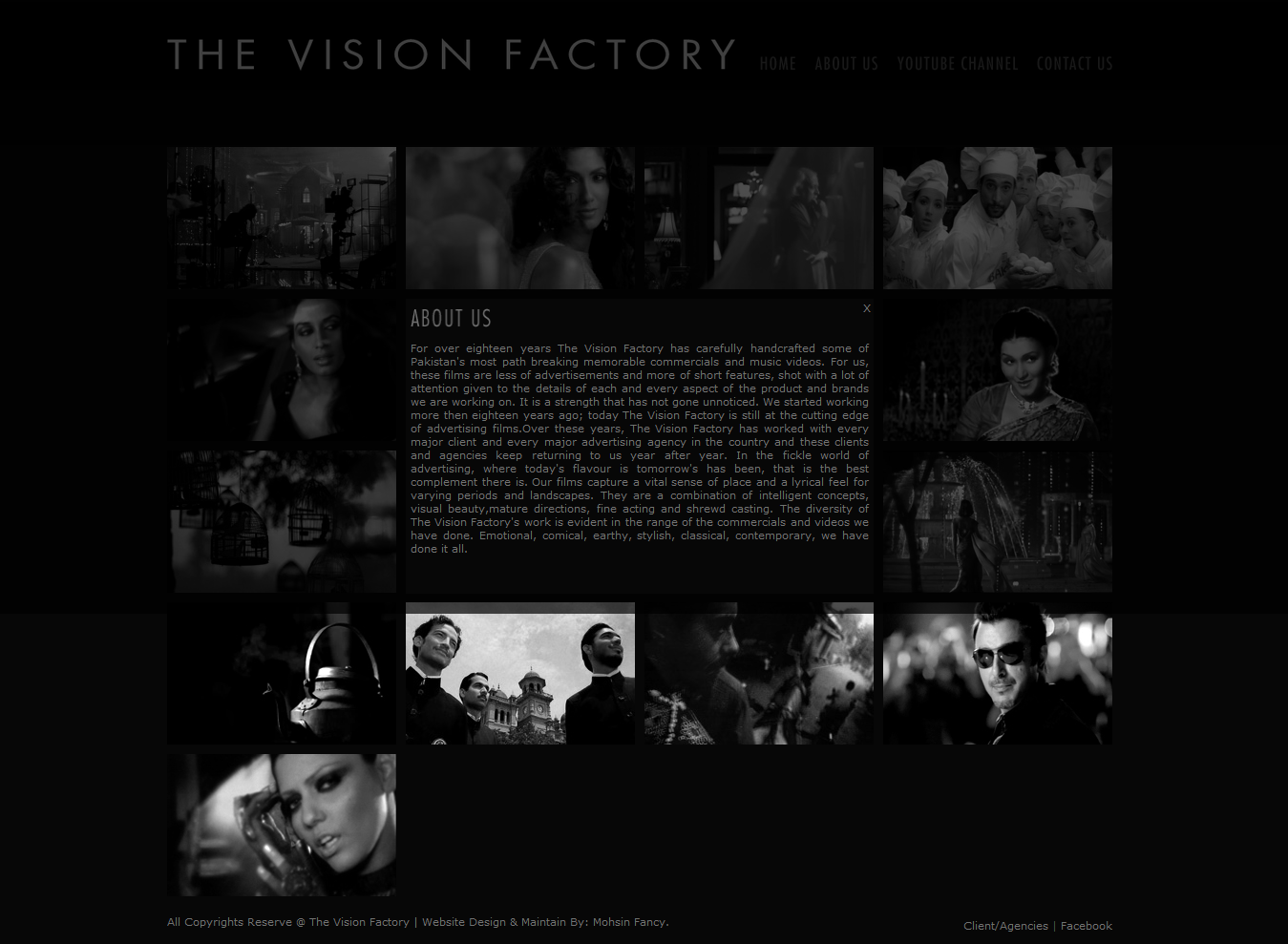 Asim Raza The Vision Factory About Us Page