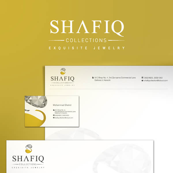 Shafiq Collection Jewelry - Logo Design