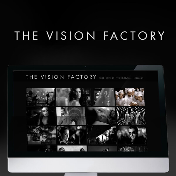 The Vision Factory Website Design