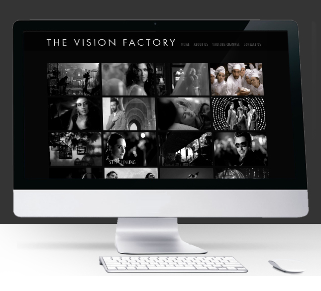 Asim Raza The Vision Factory Website