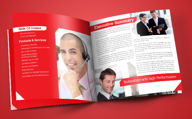 Company Profile Inner Pages
