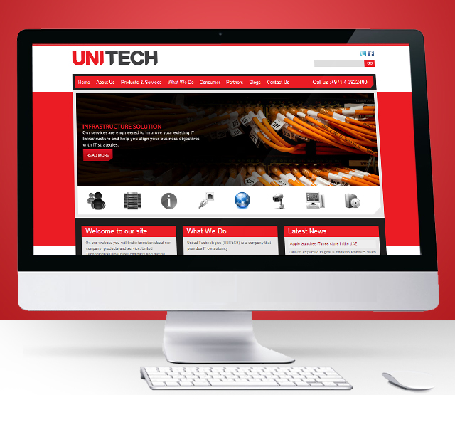 Unitech Website Design & Development.