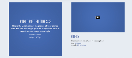 Size and Dimension For Facebook | Social Media