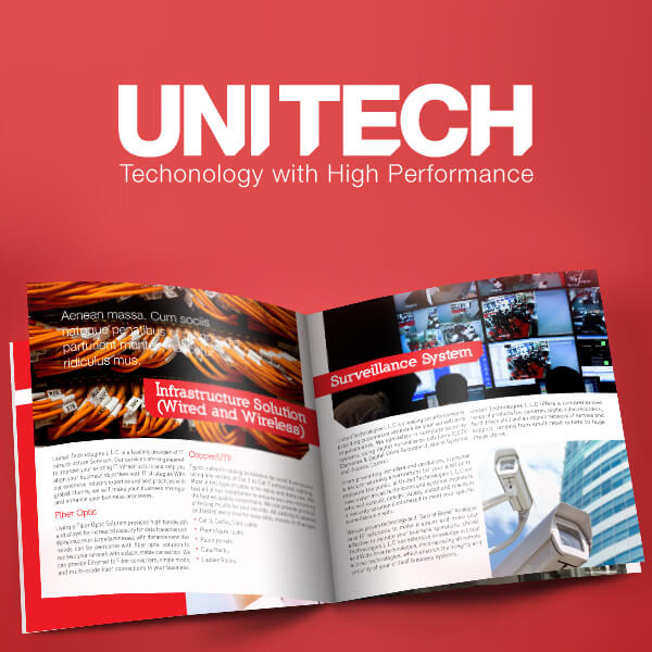 UNITECH Technology Company Branding Project
