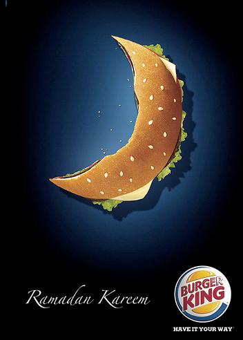Burger King Ramadan Ad Campaign