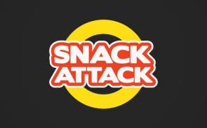 Snack Attact Logo Design