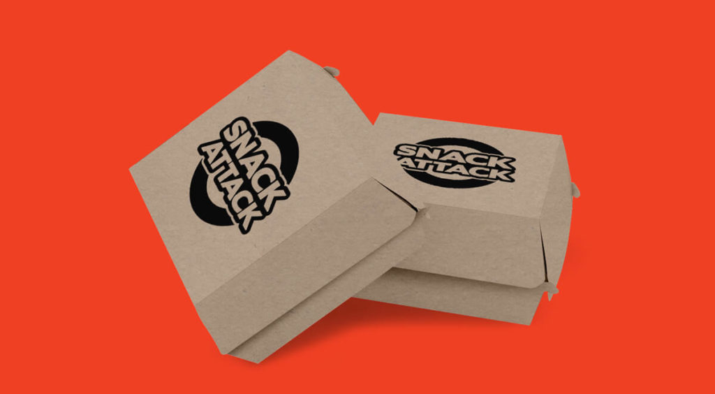 Logo Application Burger Box
