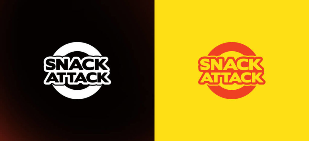 Logo Variation Snack Attack