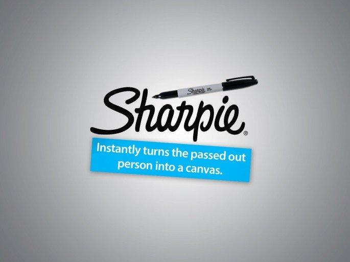 Honest Sloagan for Sharpie