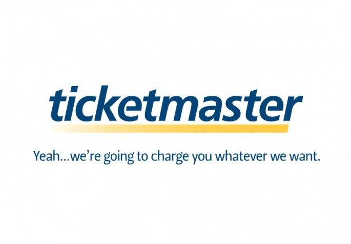 Honest Sloagan for Ticketmaster