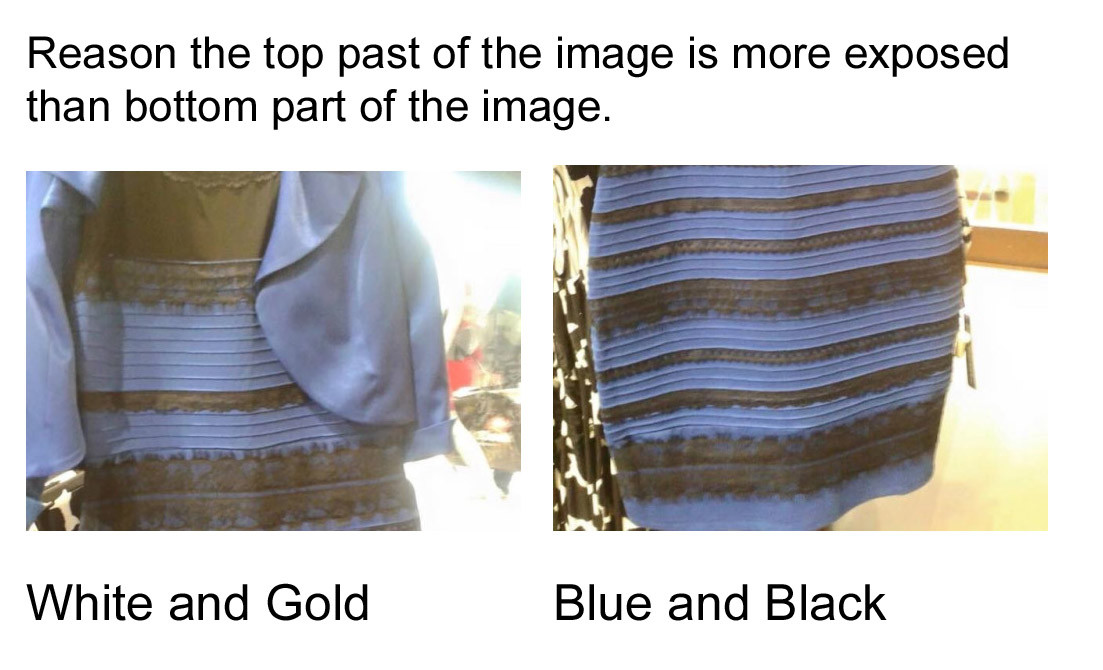 Gold Dress Color Difference