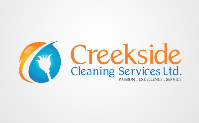 Creekside Cleaning Logo