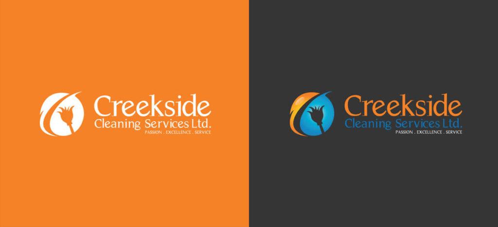 Logo Design Creekside Cleaning Service