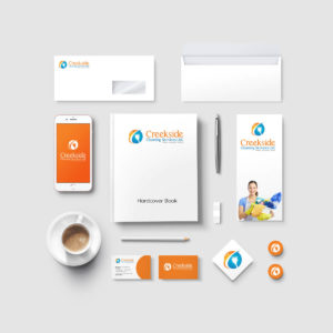 Stationery Set Creekside Cleaning Calgary