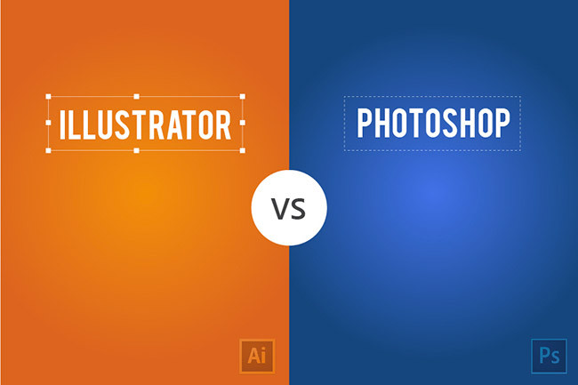 Difference Illustrator Vs Photoshop