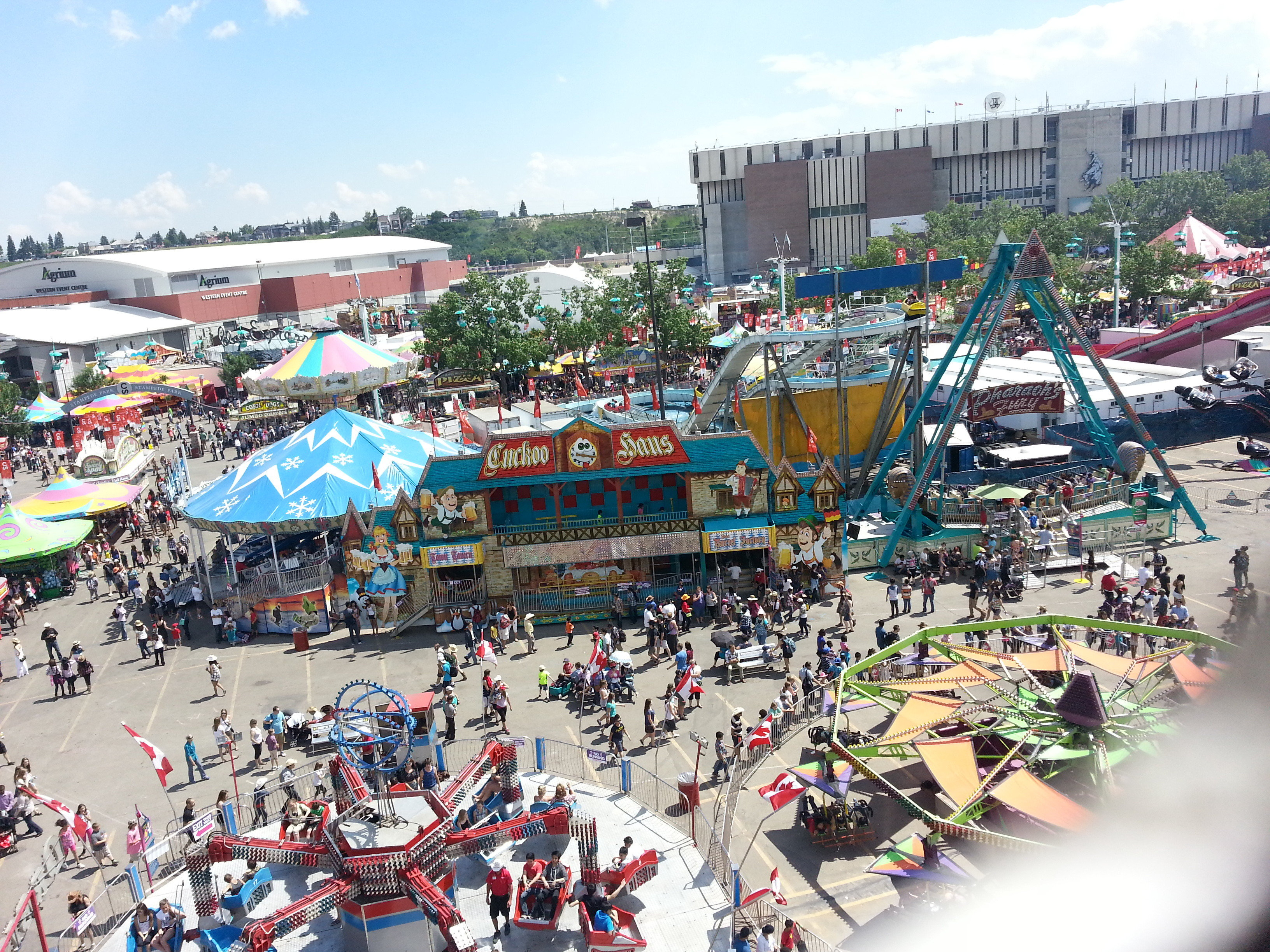 Calgary Stampede, Park View