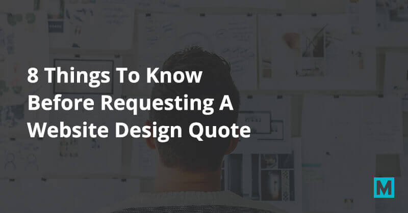 8 Things to know before requesting a website design quote